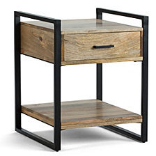 Riverside End Table, Quick Ship