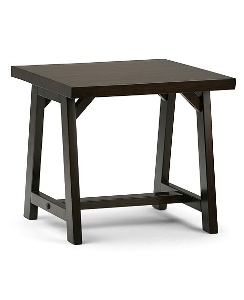 Simpli Home Ramsee Side Table, Quick Ship