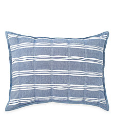 Peri Home Puckered Stripe Standard Sham