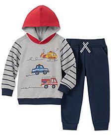 Kids Headquarters Baby Boys 2-Pc. Vehicles Hoodie & Jogger Pants Set