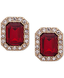 Lauren Ralph Lauren Pavé & Stone Stud Earrings
