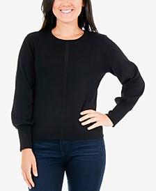 Petite Balloon-Sleeve Sweater