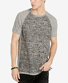 Buffalo David Bitton Men's Heathered Raglan T-Shirt