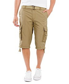 Men's Big and Tall Belted Cordova Messenger Short