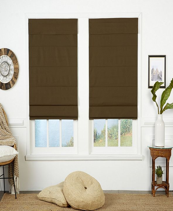 The Cordless Collection Insulating Cordless Roman Shade, 39x72