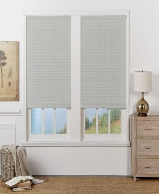 Cordless Light Filtering Pleated Shade, 33.5x72