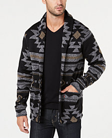 Levi's® Men's Reverve Geometric Fleece Cardigan