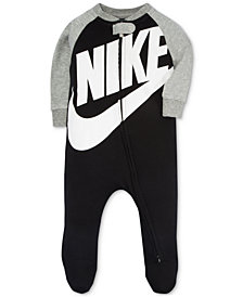 Nike Baby Boys Futura Raglan Footed Coverall