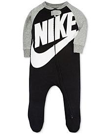 Nike Baby Boys Futura Raglan Footed Coverall