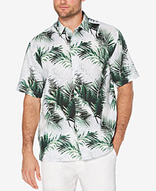 Cubavera Men's Big & Tall Palm Leaf Shirt