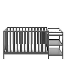 Storkcraft Pacific 4 in 1 Convertible Crib and Changer