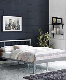 Gwen Full Bed Frame in White