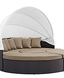 Overmax- Convene Canopy Outdoor Patio Daybed