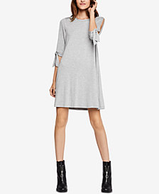 BCBGeneration Tie-Sleeve Swing Dress