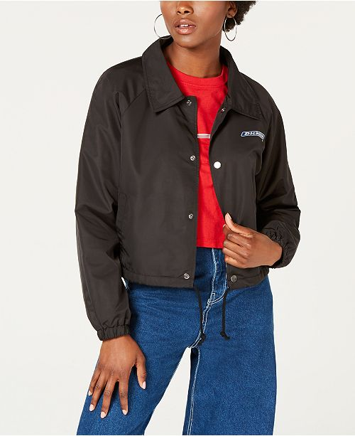 347a876b7 Dickies Cropped Coaches Jacket & Reviews - Jackets & Vests ...