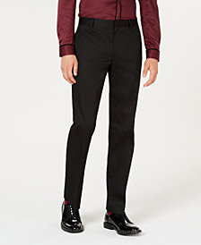 I.N.C. Men's Collins Regular Fit Dress Pants, Created for Macy's