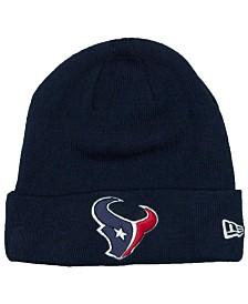 New Era Houston Texans Basic Cuff Knit