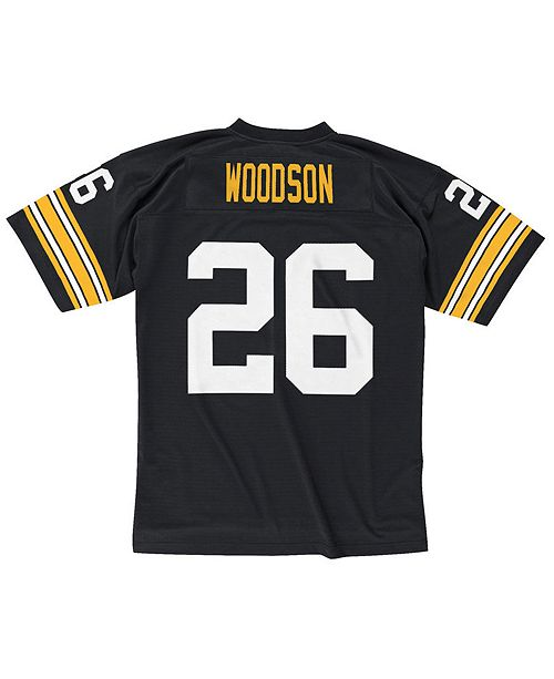 best service d48b4 b6ff5 Mitchell & Ness Men's Rod Woodson Pittsburgh Steelers ...