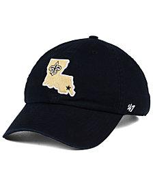 '47 Brand New Orleans Saints CLEAN UP Strapback Cap