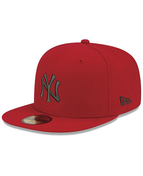 4ad4213d217 New Era. New York Yankees Reverse C-Dub 59FIFTY Fitted Cap. Be the first to  Write a Review. main image ...