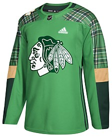 adidas Men's Chicago Blackhawks St. Patrick's Day Authentic Jersey