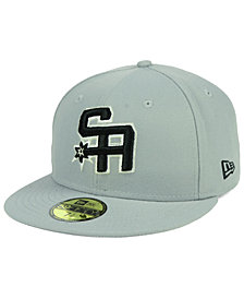 New Era San Antonio Spurs Combo Logo 59FIFTY FITTED Cap