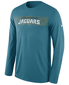 Nike Men's Jacksonville Jaguars Legend On-Fileld Seismic Long Sleeve T-Shirt