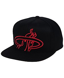 Mitchell & Ness Miami Heat Metallic Cropped Snapback Cap