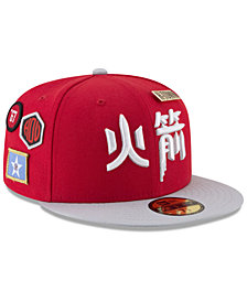 New Era Houston Rockets City On-Court 59FIFTY FITTED Cap