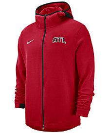 Nike Men's Atlanta Hawks Dry Showtime Full-Zip Hoodie