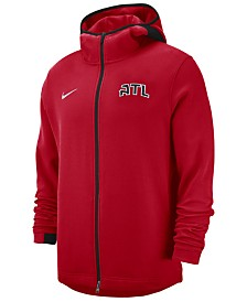 Nike Men's Atlanta Hawks Dry Showtime Full-Zip Hoodie