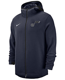 Nike Men's Utah Jazz Dry Showtime Full-Zip Hoodie