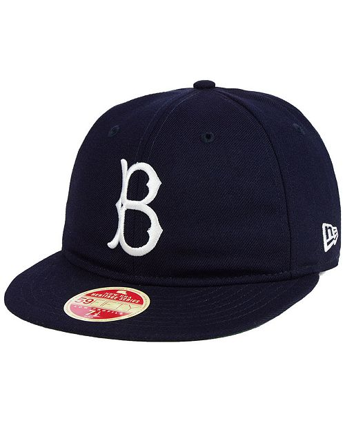 2a3e12734ef ... New Era Brooklyn Dodgers Heritage Retro Classic 59FIFTY FITTED Cap ...