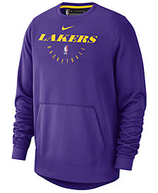 Nike Men's Los Angeles Lakers Spotlight Crew Sweatshirt