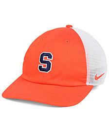 Nike Syracuse Orange H86 Trucker Snapback Cap