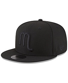 New Era Dallas Mavericks Alpha Triple Black 59FIFTY FITTED Cap