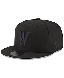 New Era Minnesota Timberwolves Alpha Triple Black 59FIFTY FITTED Cap