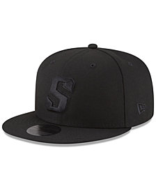 New Era Phoenix Suns Alpha Triple Black 59FIFTY FITTED Cap