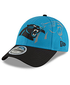 New Era Boys' Carolina Panthers Side Flect 9FORTY Cap