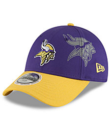 New Era Boys' Minnesota Vikings Side Flect 9FORTY Cap