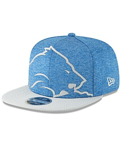 53b3f4b2dbfb3 New Era Detroit Lions Oversized Laser Cut 9FIFTY Snapback Cap