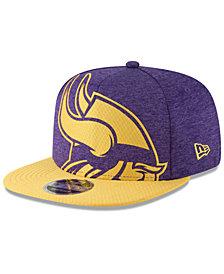 New Era Minnesota Vikings Oversized Laser Cut 9FIFTY Snapback Cap
