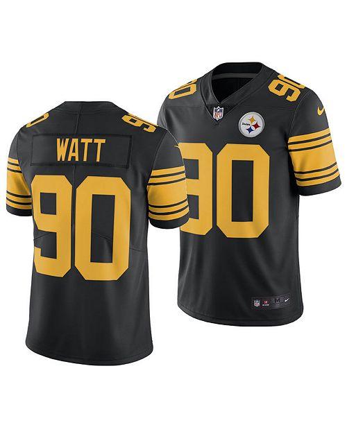781dce4b5 ... Nike Men s T.J. Watt Pittsburgh Steelers Limited Color Rush Jersey ...