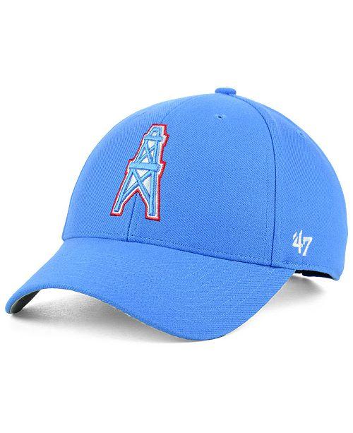 6a645e4e952cd  47 Brand Houston Oilers MVP Cap   Reviews - Sports Fan Shop By ...