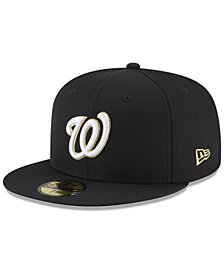 New Era Washington Nationals Prolite Gold Out 59FIFTY FITTED Cap
