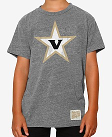 Retro Brand Vanderbilt Commodores Tri-Blend T-Shirt, Big Boys (8-20)