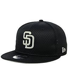 New Era San Diego Padres Batting Practice Mesh 9FIFTY Snapback Cap