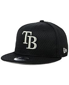 New Era Tampa Bay Rays Batting Practice Mesh 9FIFTY Snapback Cap