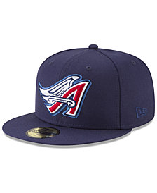 New Era Los Angeles Angels Batting Practice Wool Flip 59FIFTY FITTED Cap
