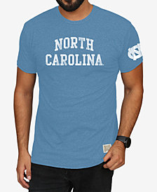 Retro Brand Men's North Carolina Tar Heels Stacked Wordmark T-Shirt